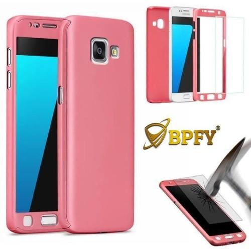 BPFY - Coque Integrale 360 ROSE Pour Samsung Galaxy S7 Edge - Protection Complete avant/arriere anti-choc film TPU anti-trace de doigt - Etui en ...