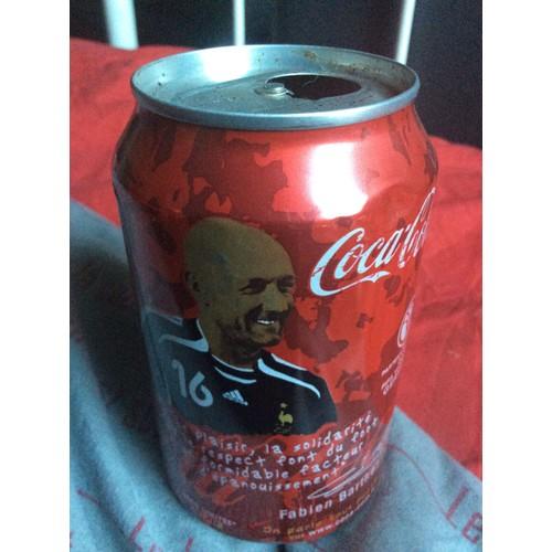 Canette coca cola coupe du monde 2006