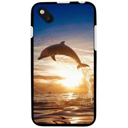Coque souple pour Wiko Sunset 2 avec impression Motifs dauphin