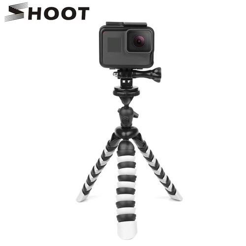SHOOT Portable Mini Flexible Octopus Trépied pour GoPro Nikon Sony DSLR Caméra Avec Téléphone Clip P