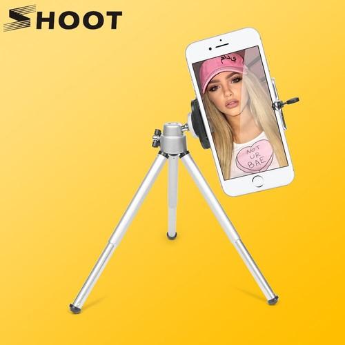 Support de mini trépied portatif pour téléphone Gopro Xiaoyi 4K SJCAM Appareil photo numérique camés