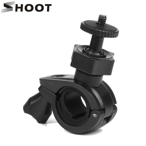 SHOOT Vélo Moto Guidon Tige de Selle Support pour GoPro Hero 5 4 3 Xiaomi Yi 4K SJCAM SJ4000 H9 DV C