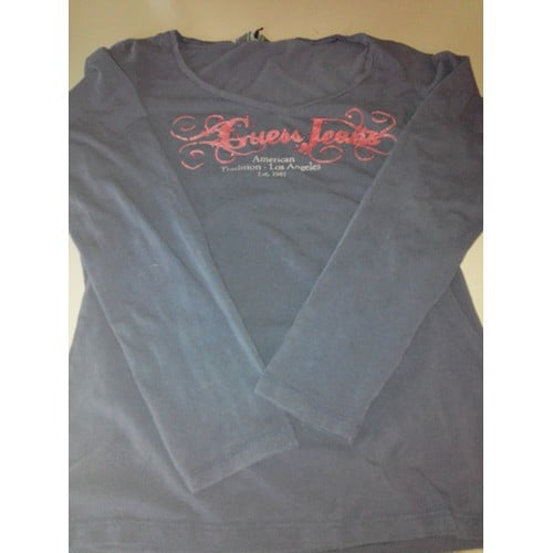 T shirt manches longues <strong>guess</strong>