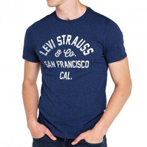 Tee shirt graphic set marine homme levi39s