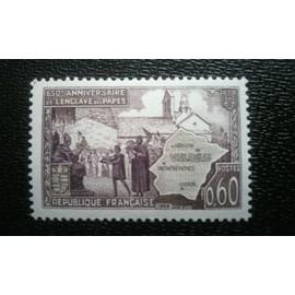 Stamp Timbre France Oblitere N° 1562 Enclave Papale De Valreas Timbres France: Oblitérés