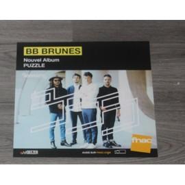 PLV 30x30cm souple BB BRUNES puzzle / magasins FNAC 2017