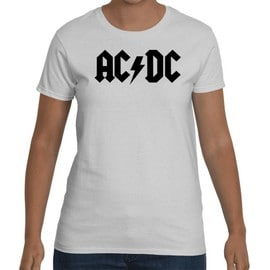 T-shirt Femme ACDC Logo Classic