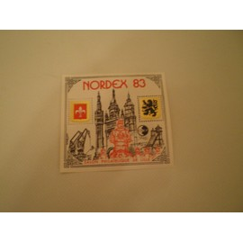 bloc feuillet NORDEX 1983