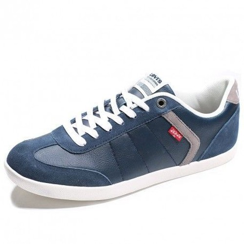 Chaussures loch suede bleu homme levi39s