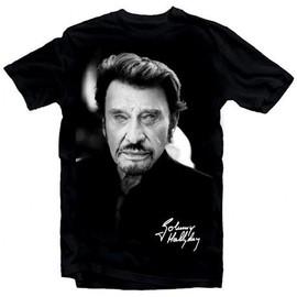 T-Shirt Fan de... Johnny Hallyday pour toujours - homme noir
