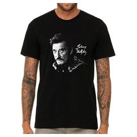 T-shirt Johnny Hallyday Signature