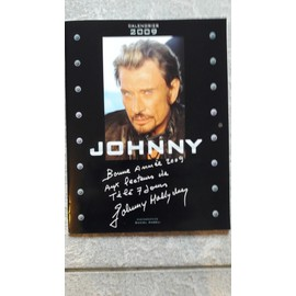Johnny Hallyday, Calendrier posters 2009