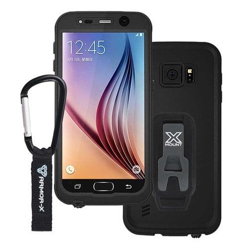 Coque étanche ARMOR-X MX-S7BK pour Samsung Galaxy S7 -Noir