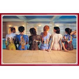 Poster encadré: Pink Floyd - Back Catalogue (61x91 cm), Cadre Plastique, Rouge