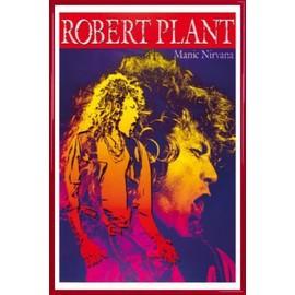 Poster encadré: Robert Plant - Manic Nirvana (91x61 cm), Cadre Plastique, Rouge