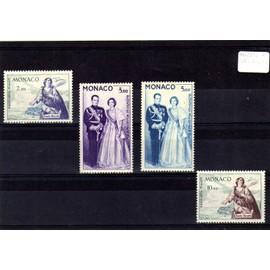 Lot de timbres neufs* de Monaco ref MO2854