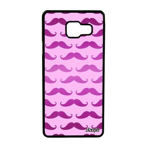 Coque Samsung A3 2016 moustache swag etui mobile dessin rose imprime en Samsung Galaxy A3 2016