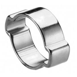 Image 100 colliers de serrage à oreilles diam 15 à 18 mm