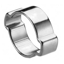 Image 100 colliers de serrage à oreilles diam 7 à 9 mm