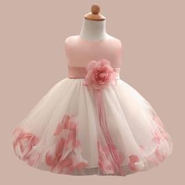 75daa7b3b7869 Robe De Soirée Enfant Fille,Robe De Princesse Fillette Pour  Mariage/Cérémonie Col Rond