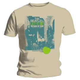 T-shirt the beatles let it be taille M Beige