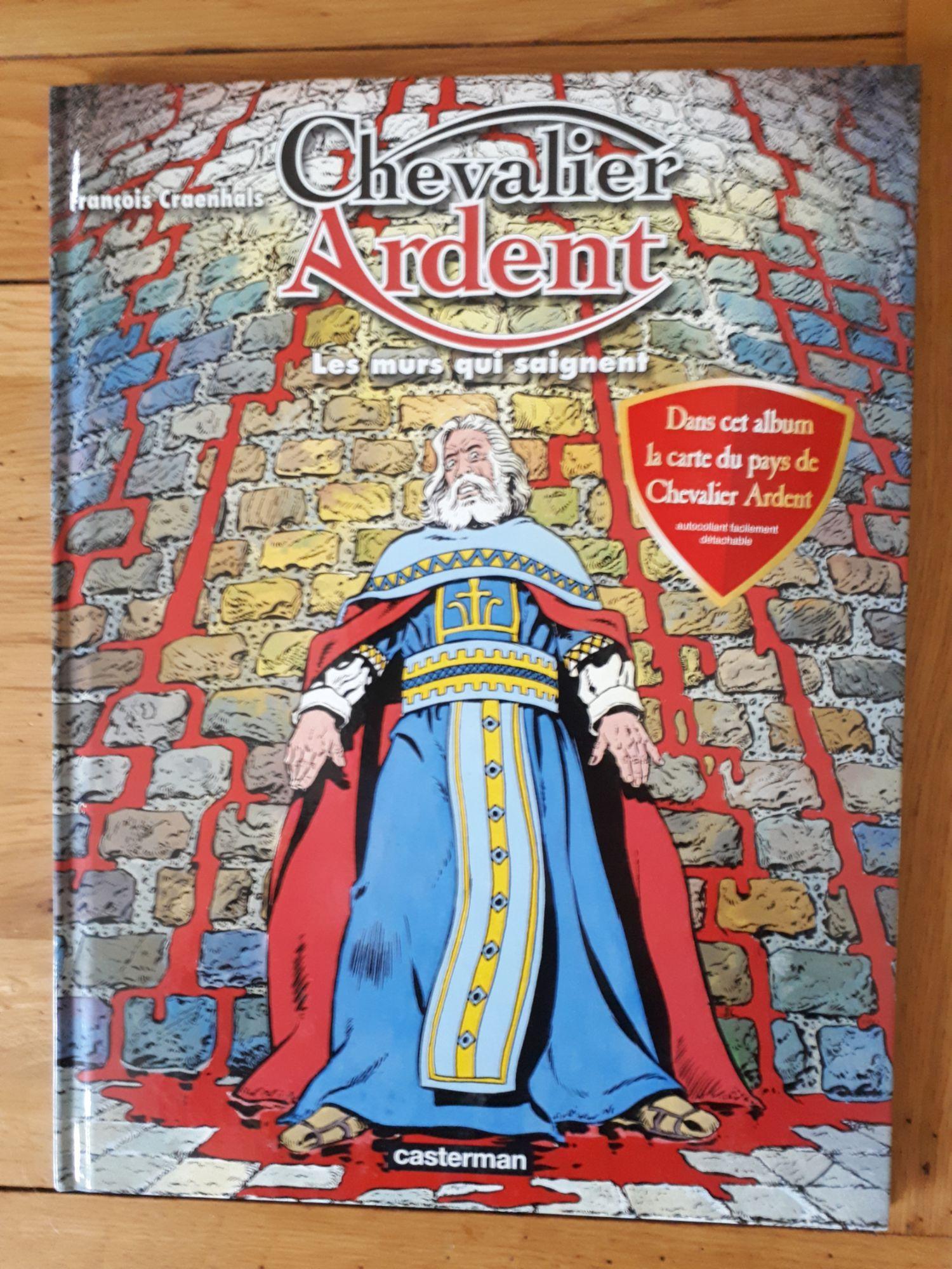 Chevalier Ardent, tome 20 - Les Murs qui saignent