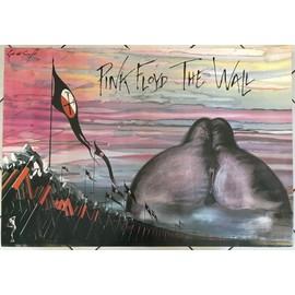 Pink Floyd - B&W - AFFICHE / POSTER envoi en tube - 70x100cm