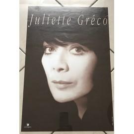 poster juliette gr co affiches de juliette gr co posters affiche murale. Black Bedroom Furniture Sets. Home Design Ideas