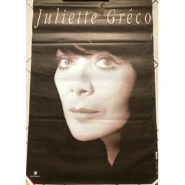 poster juliette gr co affiches de juliette gr co posters affiche murale. Black Bedroom Furniture Sets. Home Design Ideas