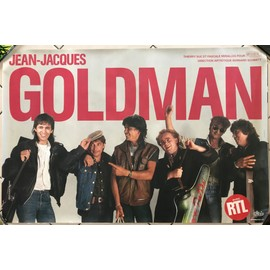 Jean-Jacques GOLDMAN - AFFICHE / POSTER envoi en tube - 80x120cm