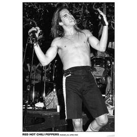Red Hot Chili Peppers - Anthony Kiedis 1988 - AFFICHE / POSTER envoi en tube - 59x84cm