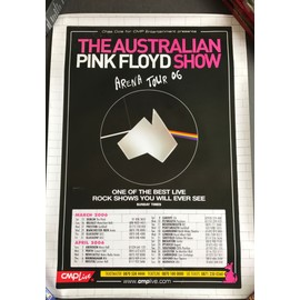 The Australian Pink Floyd Show - Arena Tour 06 - AFFICHE / POSTER envoi en tube - 50x70cm