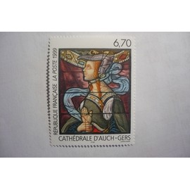 n°3254 - Vitrail de la cathédrale d'Auch (Gers) N**