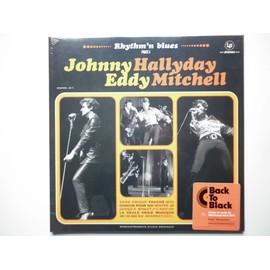 Johnny Hallyday et Eddy Mitchell 33Tours vinyle Rythm and Blues Part 1 compilation 2014