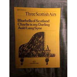Trois airs écossais Three Scottish Airs Partition Piano Collection Easy Piano 43 Chester Music Carol Barratt