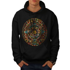 Aztec Traditionnel Men Hoodie | Wellcoda