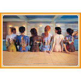 Poster encadré: Pink Floyd - Back Catalogue (61x91 cm), Cadre Plastique, Orange