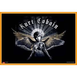 poster kurt cobain affiches de kurt cobain posters affiche murale. Black Bedroom Furniture Sets. Home Design Ideas