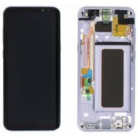 Eacute;cran LCD Original Pour Samsung G955 Galaxy S8 Plus Gris Orchid