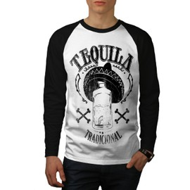 Tequila Traditionnel Homme T-shirt à manches longues | Wellcoda