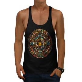 Aztec Traditionnel Men Gym Tank Top | Wellcoda