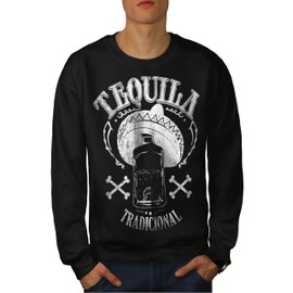 Tequila Traditionnel Homme Sweat-shirt | Wellcoda