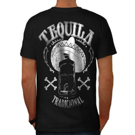 Tequila Traditionnel Homme T-shirt le dos | Wellcoda