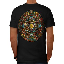 Aztec Traditionnel Men T-shirt Back | Wellcoda