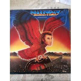 Disque vinyle 33 tours de Johnny Hallyday quelque part un aigle
