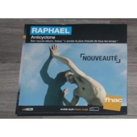 PLV souple 30x30cm RAPHAEL anticylone / magasin FNAC