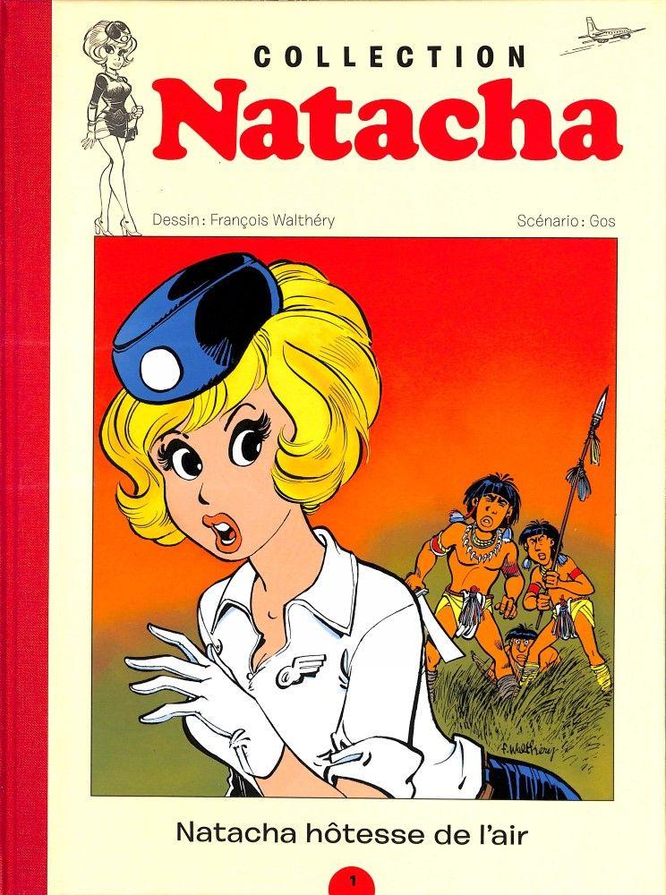 COLLECTION NATACHA N°1 - NATACHA HOTESSE DE L'AIR