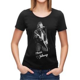 T-shirt Johnny Hallyday merci