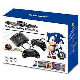 Image Console Retro Sega Megadrive + 81 Jeux Édition 2017 2018