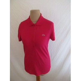 Robe lacoste rouge femme